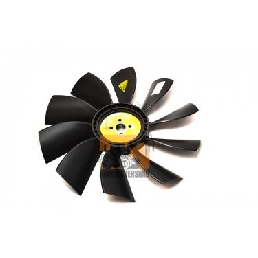 Вентилятор для погрузчика 10 лопастей D490 мм ф28мм